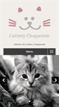 Mobile Preview of cattery-chapawee.nl